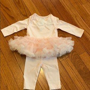 Precious baby girl tutu outfit